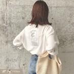 【2323sonさん使用】バックレタースタイル長袖シャツ