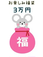2020年度★お楽しみ♪お年玉福袋 3万円コース