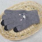 【猫チャコールネコ】スマホ手袋【17317-631-010】