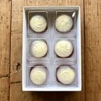 レアチーズの水まんじゅう 6個入り(化粧箱)