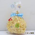 【10枚セット】肉球レインボーカラーセロファンバッグ(M)