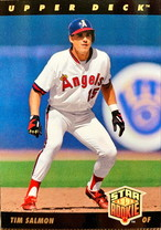 MLBカード 93UPPERDECK Tim Salmon STAR ROOKIE  #025 ANGELS