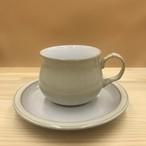 Denby カップ&ソーサー Linen リネン イギリス テーブルウェア ヴィンテージ