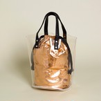 Clear Gold Purse Bag
