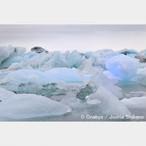 No.12-A4サイズ『氷河湖 Jökulsárlón #1』