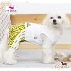 10。ITSDOG【正規輸入】犬 服 ジャージ つなぎ 袖なし 重ね着 秋 冬物