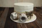 プーリップ  帽子&ゴーグル  ホワイト