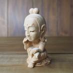 SDお母さん菩薩【木彫り】【受注製作】