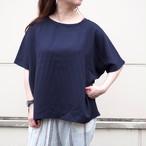 【ethical hippi】wide t-shirt (dark navy)/ 【エシカル ヒッピ】ワイド Tシャツ(ダーク ネイビー)