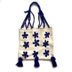 Mexico Wool Bag _04(メキシコ ウール ポンポン フリンジ ハンモック バッグ)