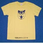柴犬まる ニッコリまるTシャツ バナナ