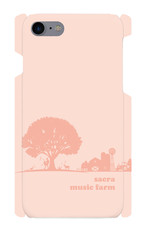 sacra music farm スマホケース(iPhone7/8:ピンク)