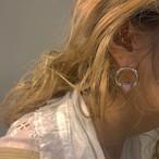 pink opal BEADS earring 両耳 #LA19010P ピンクオパール ピアス両耳