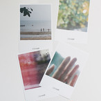 [p.palette] ポラロイド ポストカード セット(4枚)