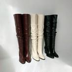 デイリーサイハイブーツ サイハイブーツ ロングブーツ ブーツ 韓国ファッション