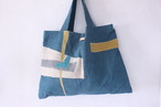 spica.g collage tote 青碧
