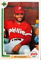 MLBカード 91UPPERDECK Sil Campusano #469 PHILLIES