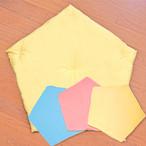 【セット】ぐっすり座布団本体と専用カバー全色(ターコイズ、ピンク、イエロー)