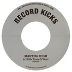 "【残りわずか/7""】Martha High - Little Taste Of Soul/Unwind Yourself"