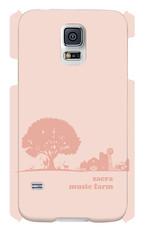sacra music farm スマホケース(Galaxy S5 SC-04F/SCL23:ピンク)