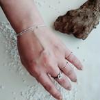 【sale・送料無料】silver925 W chain bracelet (ダブルチェーンブレスレット)