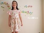 女の子のジャンパースカート(バラ・ピンク)