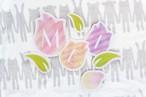 pdf形式【ダウンロード版】IRODORIガーランド_4月_tulip
