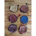 <フェアトレード>まあるい 小銭入れ 手織り ネパール WSDO