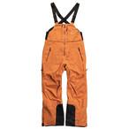 <予約商品>来期モデル2022unfudge snow wear // PEEP BIB PANTS // CAMEL