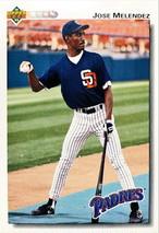 MLBカード 92UPPERDECK Jose Melendez #566 PADRES