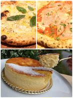 ウチマルピッツァ2種類セット②としあわせフォンダンチーズのセット