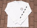 Pigment Dye long sleeve / white