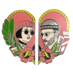 LEON AND MATHILDA TWO PIN SET BY LA BARBUDA