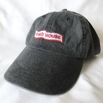 ROADHOUSE Thrift logo dad cap(ブラック)
