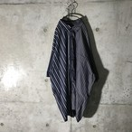 [used] two patterns switching shirt