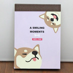 【A SMILING MOMENTS】ちっちゃいメモ(柴犬)【crx-09340】