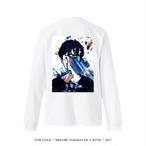 "STAY GOLD "" MEGURU YAMAGUCHI × KYNE "" 2017  Long-sleeve shirts / white"