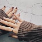 silver 925 twist ring