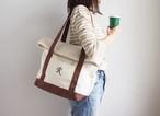BEND TOTE BAG(キナリ×コーヒー)