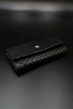 Item No.0243 :Key Case 1/Python Black/EC-S