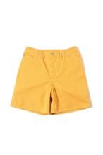 Cotton Twill Frisco Shorts / yellow