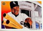 MLBカード 92UPPERDECK Frank Thomas #087 WHITE SOX CHECKLIST