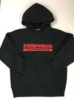 5150products プルオーバーパーカー/BLK