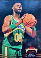 NBAカード 92-93TOPPS Benoit Benjamin #115 SUPERSONICS
