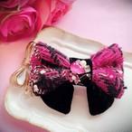 double ribbon バレッタ♡tweed bijou