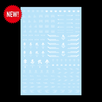 DESIGNED MARKING DECAL <NEW!>