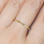『12角さん』Brass(真鍮)製 オリジナルリング