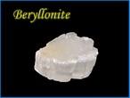 ベリロナイト原石I