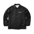 COACH JACKET -BLACK-