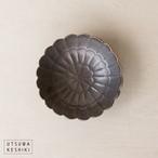 [前田 麻美]菊 豆皿(ブロンズ釉)